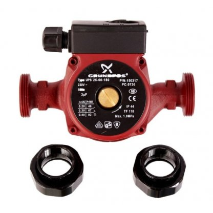 Pompa recirculare apa Grundfos 25/60 180 mm