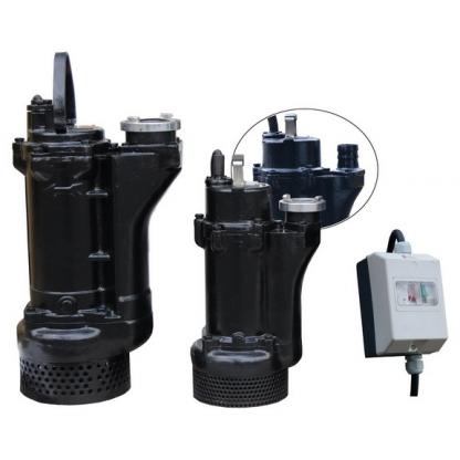 Pompa pentru drenare apa namoloasa din santiere sau inundatii 80-KBFU-5.5 kW, IBO (Polonia)