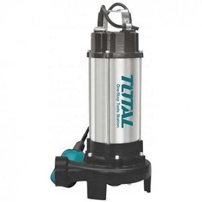 Pompa submersibila -apa murdara- cu tocator si plutitor - 1500W TOTAL