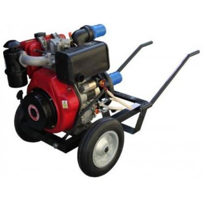 Motopompa Profesionala DWP 186 K - Diesel 9 CP