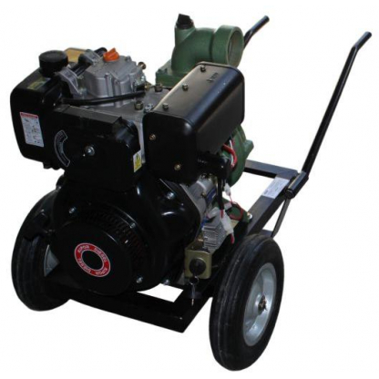 Motopompa Profesionala DWP 186 K cu panou de pornire (la cheie) Diesel 9 CP