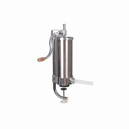 Aparat manual pentru umplut carnati capacitate 2,5 kg - Vertical