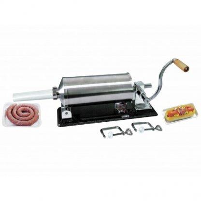 Masina manuala de umplut carnati Orizontal - 4 kg  - Micul Fermier