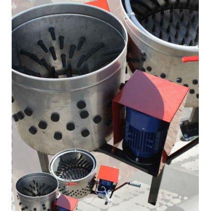 Deplumator pentru gaini -produs fabricat in Romania
