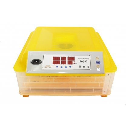 Incubator automat 48 oua gaina sau 132 prepelita