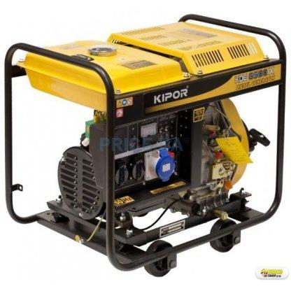 Generator curent electric Kipor KDE 6500 X