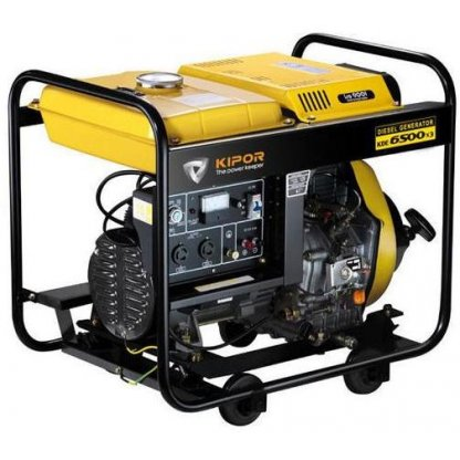 Generator curent electric Kipor KDE 6500 X3