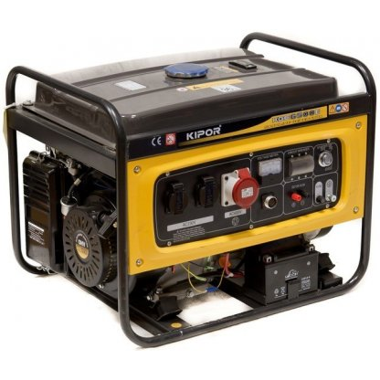 Generator curent electric Kipor KGE 6500 E