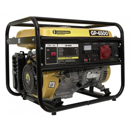 GENERATOR CURENT ELECTRIC GP-6500 BENZINA TRIFAZIC 5500W