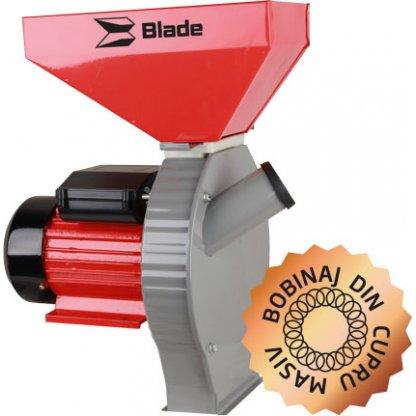 Moara electrica pentru cereale si stiuleti de porumb Blade - model B 2,7 kW