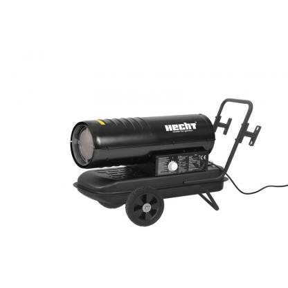 Tun de caldura - Turbina cu aer cald diesel cu roti si maner