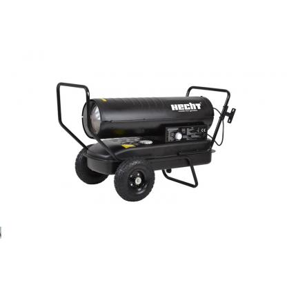 Tun de caldura - Turbina diesel cu aer cald cu roti si manere Hecht 3038