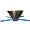Zdrobitor de struguri manual cuva din inox capacitate 20 litri